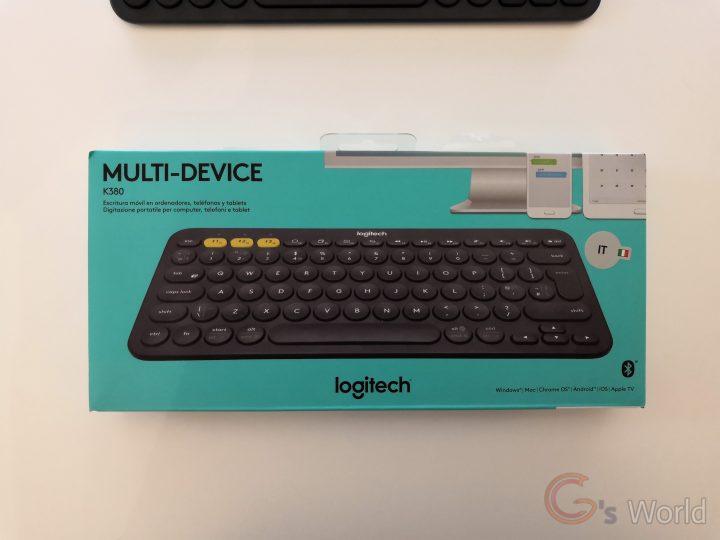 Recensione Logitech K380 - Una macchina da scrivere come